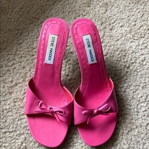 Steve madden Hot Pink 'Cutey' Sandal